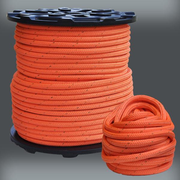 Double Braid Polyester Arborist Rope 3//4 inch Orange 100