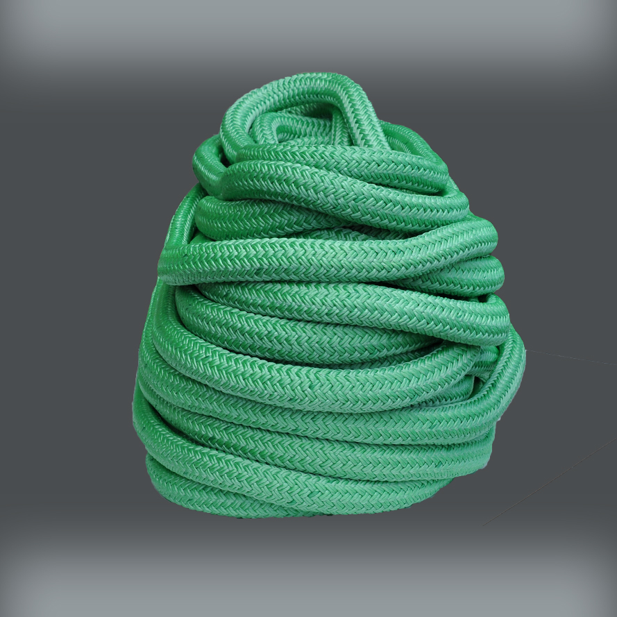"""Hoist Line Details about  /1//2/"""" x 200/' Double Braid Rope Rigging Line Arborist Bull Rope NEW"""