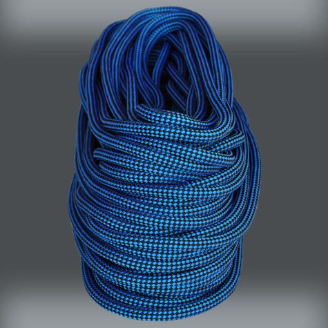 Finish Line Blue 32 Strand - 7/16 inch static rope