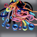 Pile of Rope with Low Friction Rings