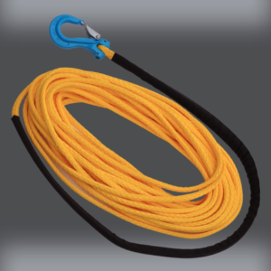 5/16 inch Chipper Line with hook - Synthetic Winch Rope