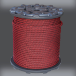 7/16 Kernmantle – Red Finish Line Reel