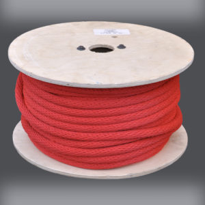 Red Derby Rope - Solid Braid Multifilament Polypropylene Rope - Reel
