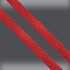 Red Derby Rope - Solid Braid Multifilament Polypropylene Rope - Strand