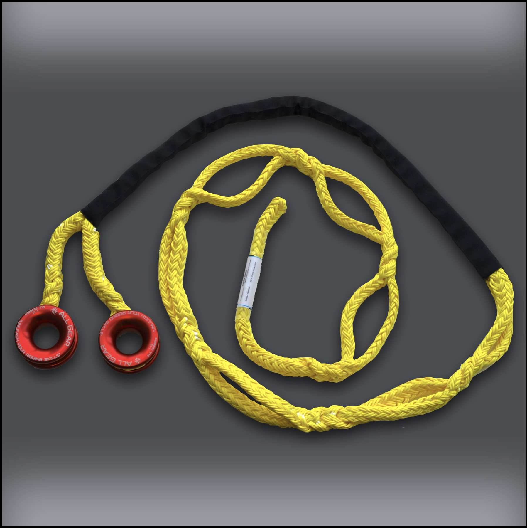 Double Headed Adjustable Soft Rig Sling – 5:8